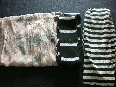 Only 75p Each Jersey / T Shirt Scarves Ideal for Accessories Jewellery Drops VGC