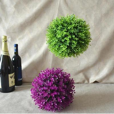Artificial Plant Ball Topiary Tree Boxwood Wedding Party Outdoor Decor DB