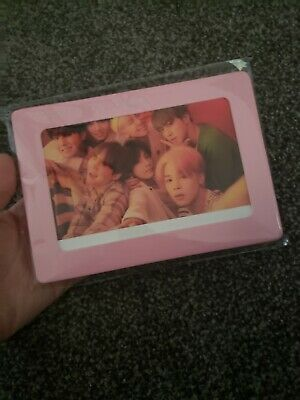 Full Set of 4 BTS Map of The Soul Persona Official Aurora Photo Frame