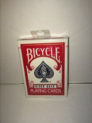 Bicycle Poker 808 Playing Cards, Rider Back, Sealed Deck Blue Seal Ohio