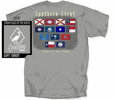 Flags Of The South Short Sleeve T by Southern Strut