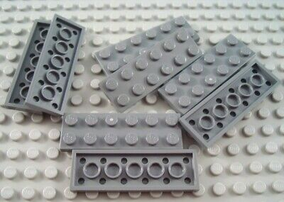 LEGO Lot of 25 Dark Bluish Gray 1x2 Flat Building Plate Pieces