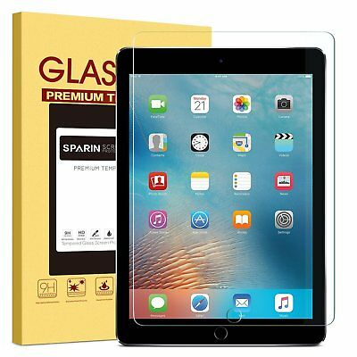 "2 X Real Genuine Tempered Glass Film Lcd Screen Protector For New Ipad 9.7""2018"