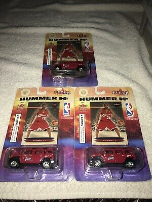 40e1053253a4 LOT OF 3 2003-04 Fleer Ultra LeBron James RC ROOKIE Card w  HUMMER