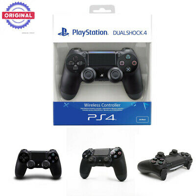 Sony Official NEW Dualshock 4 Controller (Black) (PS4) V2 Brand New & Sealed