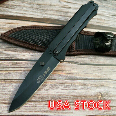 "7.8"" Diving Tool Field Survival Small Straight Knife Fixed Knife Camping Knife"