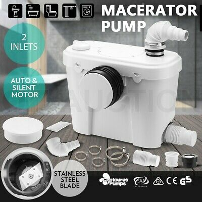 Macerator Sewerage Pump Waste Water Marine Auto Toilet Unit Laundry Disposal