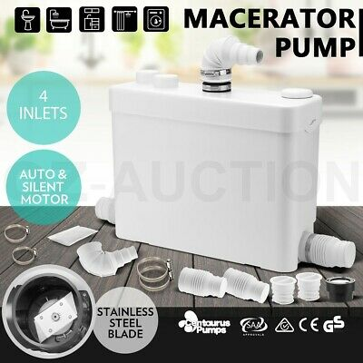 Macerator Sewerage Pump Waste Water Marine Toilet Laundry Bathroom Sink Disposal