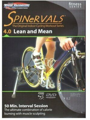 Spinervals Fitness Series 4.0 Lean and Mean DVD - Region 0 worldwide