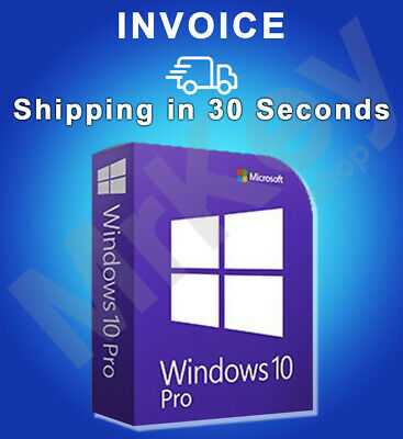 Windows 10 Pro Professional 32/64bit ESD Microsoft Licence Key Activation Code