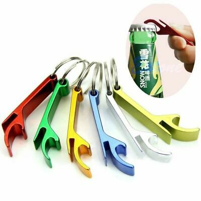 10x Alloy Beer Beverage Bottle Can Claw Opener Key Ring Keychain Keyfob Bar Tool