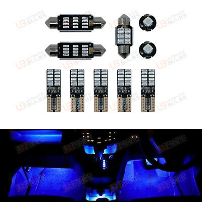 BLUE Premium Interior LED Kit - Fits Jaguar X Type - Bright SMD