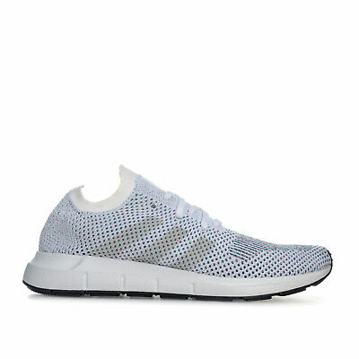 a6b0169cd ADIDAS MENS UK 9 Eu 43 1 3 White Grey Swift Run Originals Trainers ...