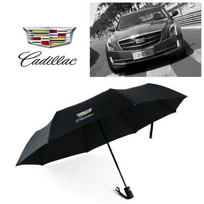 128ea04ddb43 HIGH QUALITY CADILLAC Umbrella Folding Automatic Genuine Designer ...