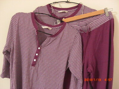 Cyberjammies Nora Rose 3 Pieces Pyjamas & Night shirt Matching Pink Stripe 8 10