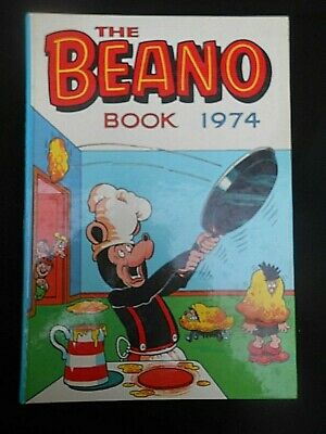 ** THE BEANO BOOK 1974 ** Annual UNCLIPPED V/G Condition FREE UK P&P