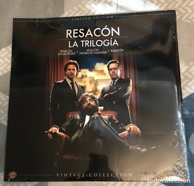 trilogia resacon ediccion limitada vintage funda vinillo Bluray Precintado