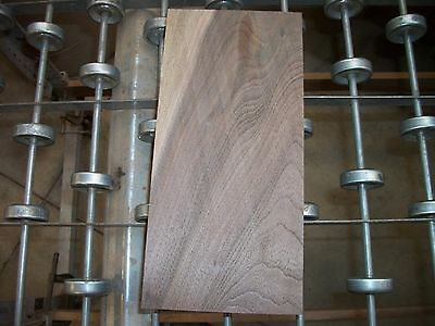 "1 Pc Walnut Lumber Wood Air Dried Board 12""X5 5/8""X 1 15/16""  749A Carving Block"