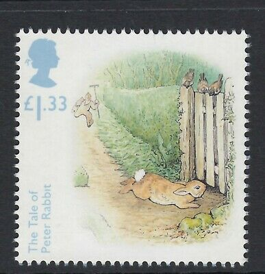 Beatrix   Potter - Tale Of Peter Rabbit Illustrated  On 2016  Gb   Mint Stamp