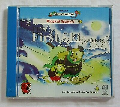 Richard Scarry's First Ski's Video CD