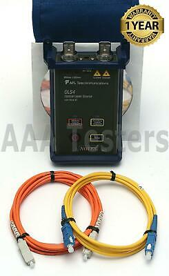 AFL Noyes OLS4 Quad SM MM Fiber Optic Laser Light Source OLS-4