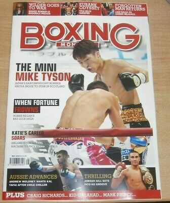 Boxing Monthly magazine May 2019 Japan's Naoya Inoue to star in Scotland & more