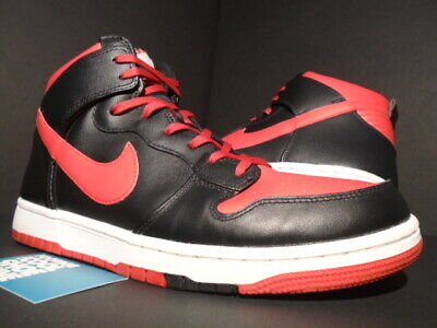 new concept 0619c 1ff3d Nike Sb Dunk Cmft High Be True To Your School Bttys Bred Red Black White  10.5