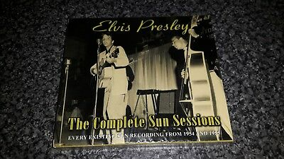 Elvis Presley - The Complete Sun Sessions 2 x CD NEW & SEALED Chrome Dreams 2006
