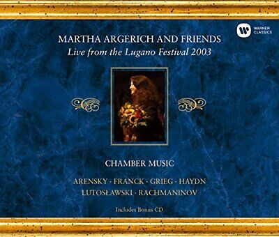 Martha Argerich - Live From The Lugano Festival 2003 (Import) New Cd