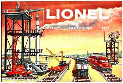 Lionel Trains Vintage Color Brochure / Catalog from 1958