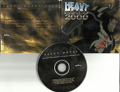 HEAVY METAL 2000 PROMO CD SYSTEM OF A DOWN Queens of the Stone Age COAL CHAMBER