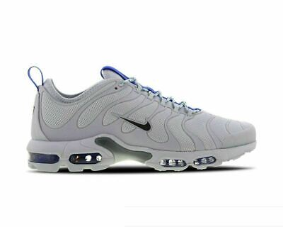 low priced 1d7ed 1f3eb Original Nike Air Max Plus Tuned 1 TN Ultra Grey White Trainers Sneakers