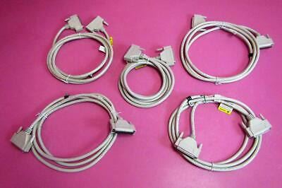 Lot of 5 Stryker Hospital Bed 37 Pin Male/Male Communication Interface Cable