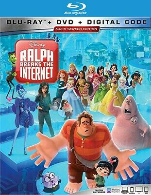 Ralph Breaks The Internet (Blu-ray Disc ONLY, 2019)