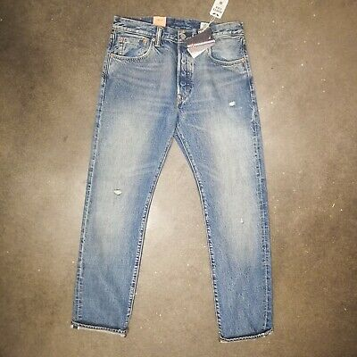 9cb19cfd $128 Levi's 501 Cone Mills Redwood Ave Selvedge Jeans 00501 2570 sz 32x32  nwt