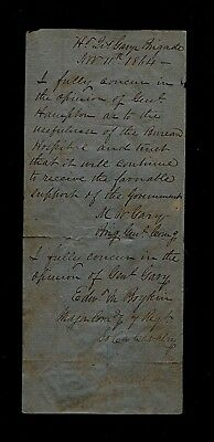 Orders of SC Confed General Martin Witherspoon Gary - HQ Gary's Brig. 11/11/1864