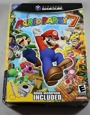 MARIO PARTY 6 + Microphone (2005) Brand New Factory Sealed