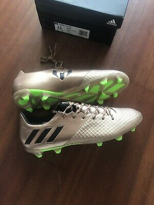 969074394713 Adidas Messi 16.2 FG Soccer Cleats BA9834 Gold Black Lime Mens Size 11