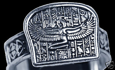 LOOK New Egyptian Isis Goddess silver Ring egypt Jewelry