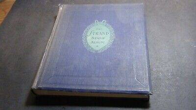 WW stamp collection in a Gibbons Strand album w/ 482 or so stamps