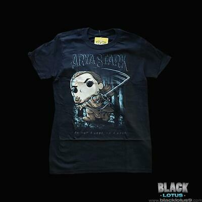 Funko Pop! Tees Arya Stark Needle Shirt Gendry Game of Thrones HBO Pop Medium