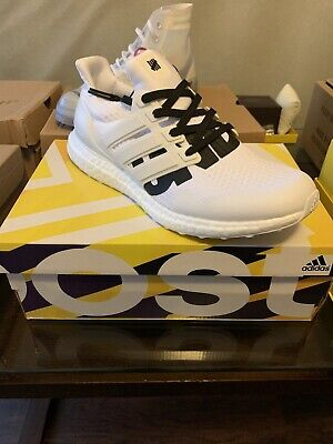 1182d895b18db ADIDAS ULTRA BOOST UNDFTD UNDEFEATED 4.0 WHITE BB9102 Used Size 12 ...