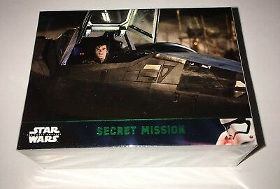 2016 Star Wars The Force Awakens Series 2 Green Parallel Set 100 Cards