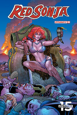 RED SONJA #3, COVER A CONNER, New, First print, Dynamite (2019)