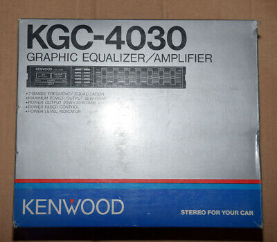 Kenwood KGC 4030 • NEW • NOS • Vintage Car HiFi • KGC4030 • New Old Stock EQ OVP