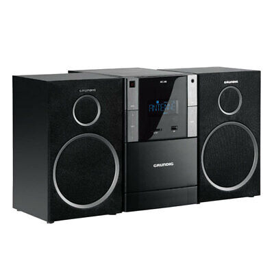 Grundig MS 240 Design Mirco Anlage USB MP3 UKW Radio CD Kassettendeck