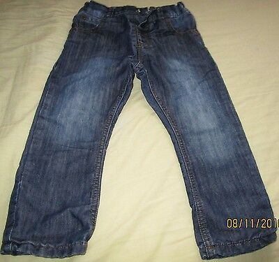 Boys Blue Jeans Size 18  Months- 2 Years Next