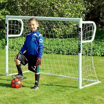 Rebo Steel Pro Football Goal Posts with Locking System Goals - 3 Sizes