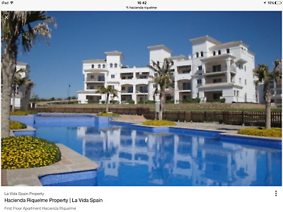 Now Reduced For Quick Sale Bargain Ground Floor Golf Apartment Spain !!!!!!!