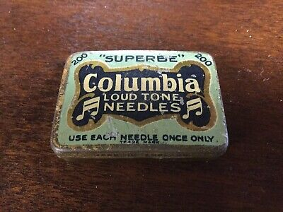 Old Tin Columbia Needles